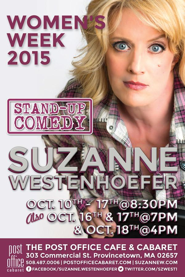 Suzanne Westenhoefer flyer