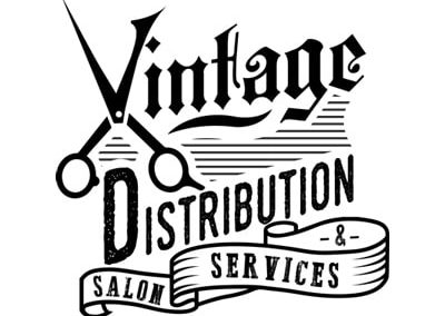 Vintage Distribution & Salon Services logo